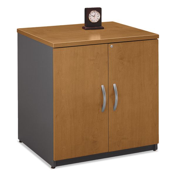 bbf by Bush Furniture Series C Two-Door Storage Cabinet