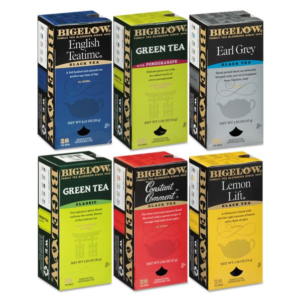 Bigelow Assorted Flavored Tea