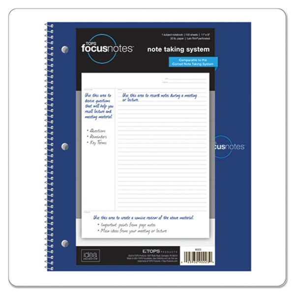 Tops FocusNotes Notebook