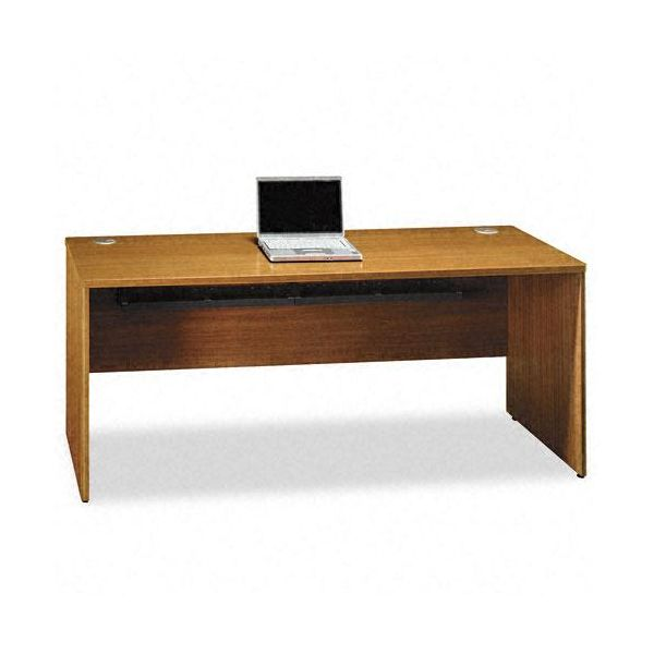 bbf Quantum Series Credenza, 72w x 24d x 30h, Modern Cherry Frame/Top by Bush Furniture