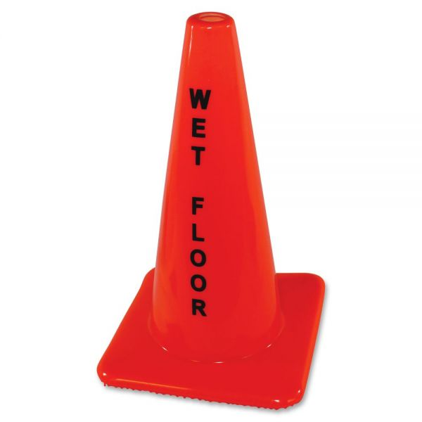 Impact Products Wet Floor Orange Safety Cone