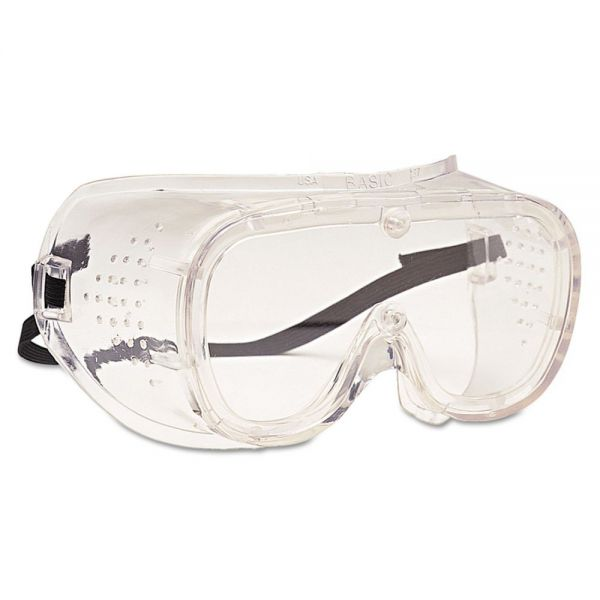 Bouton 440 Basic Direct Vent Goggles, Clear Lens
