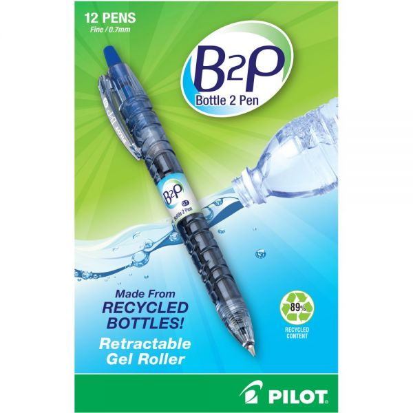 BeGreen B2P Fine Point Gel Pens