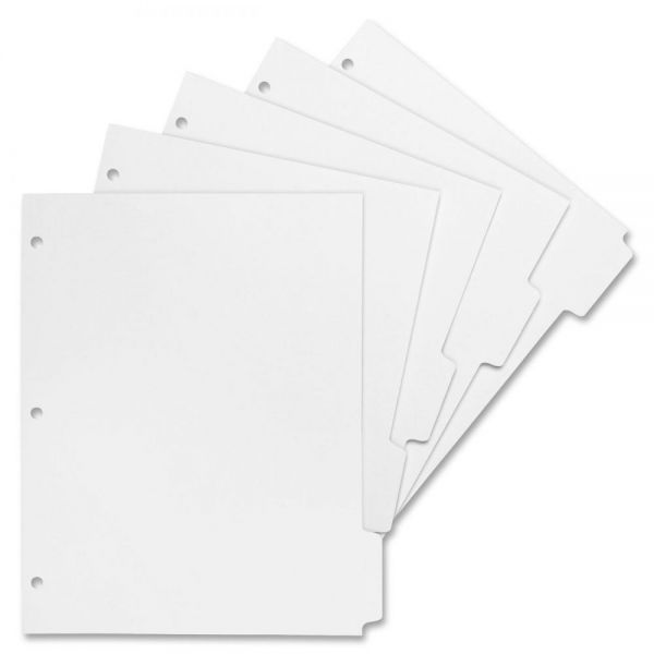 Sparco Print-On 5-Tab Index Dividers