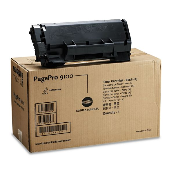 Konica Minolta 1710497-001 Black Toner Cartridge