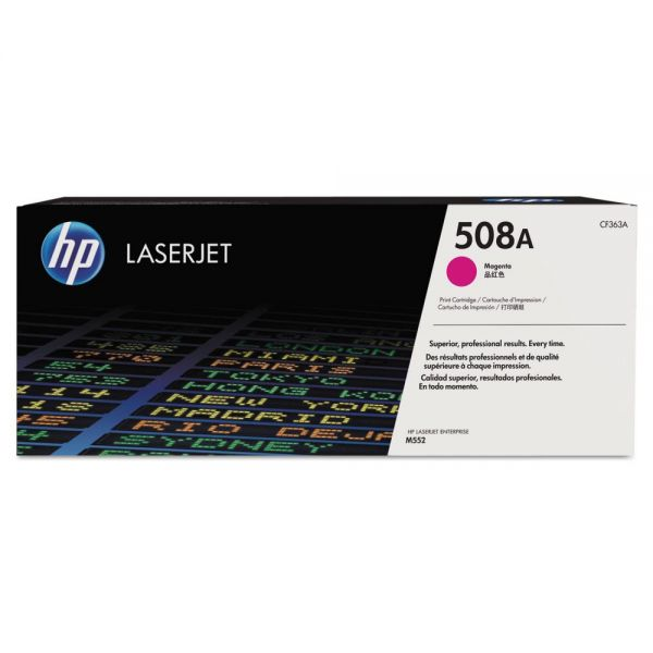 HP 508A  Magenta Toner Cartridge (CF363A)
