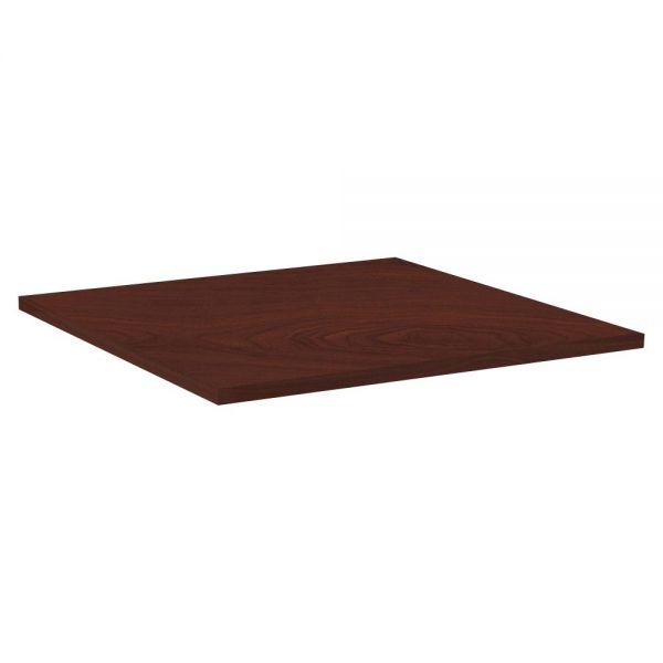 Lorell Hospitality Square Tabletop - Mahogany