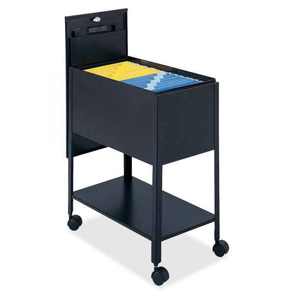Safco Extra Deep Mobile Tub File Cart