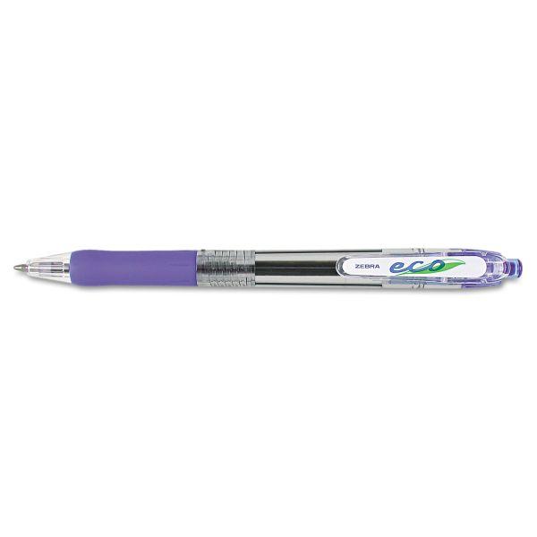 Zebra Pen ECO Retractable Ballpoint Pens