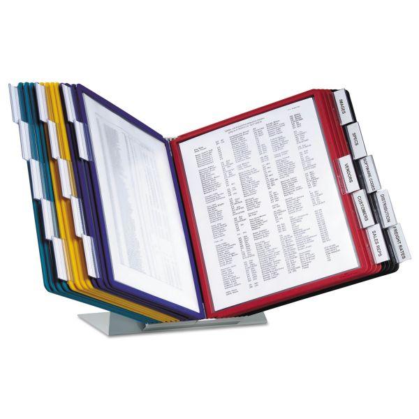 Durable VARIO Reference Desktop System, 20 Panels