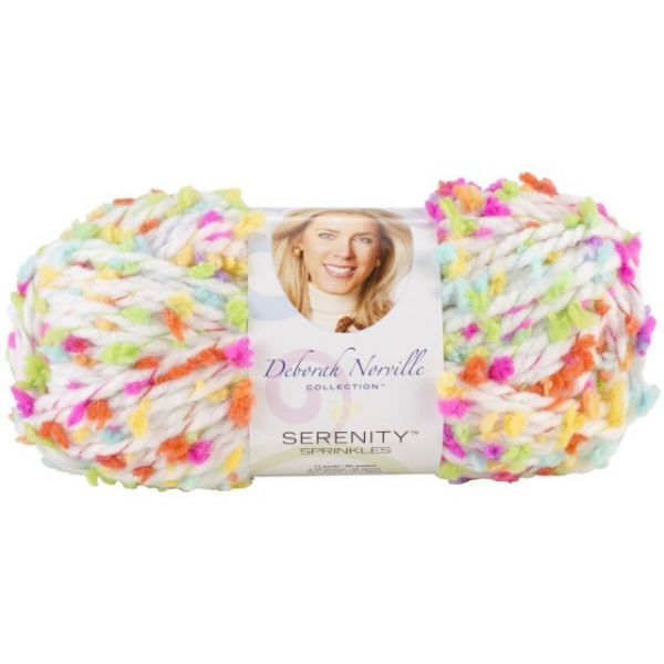 Deborah Norville Collection Serenity Chunky Sprinkles Yarn