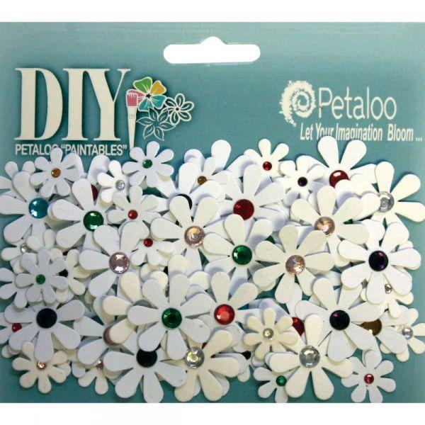 """DIY Paintables Florettes .5"""" - 1"""" 80/Pkg"""