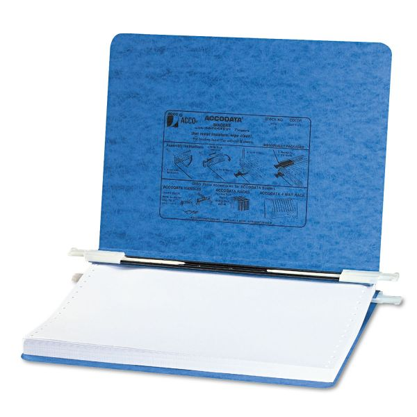 "Acco 8 1/2"" x 11 3/4"" Hanging Data Binder"