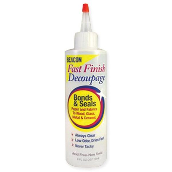 Fast Finish Decoupage Sealer