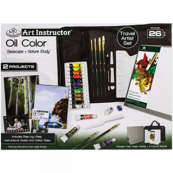 Art Instructor Oil Color Travel Set