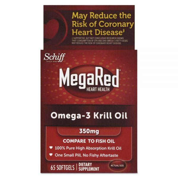 MegaRed Omega-3 Krill Oil Softgels