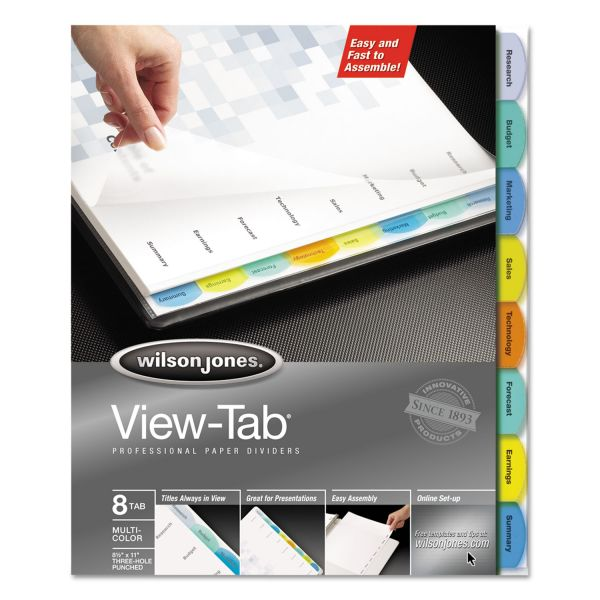 Wilson Jones View-Tab Dividers
