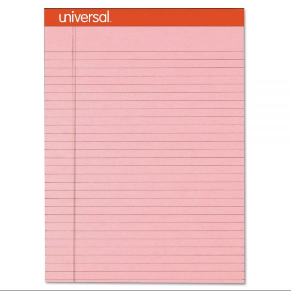 Universal Fashion-Colored Letter-Size Pink Legal Pads