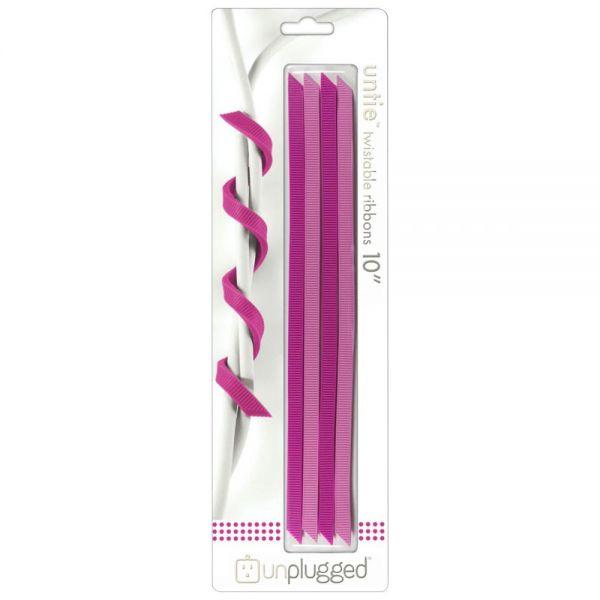 "Untie Twistable Ribbons 10"" 4/Pkg"