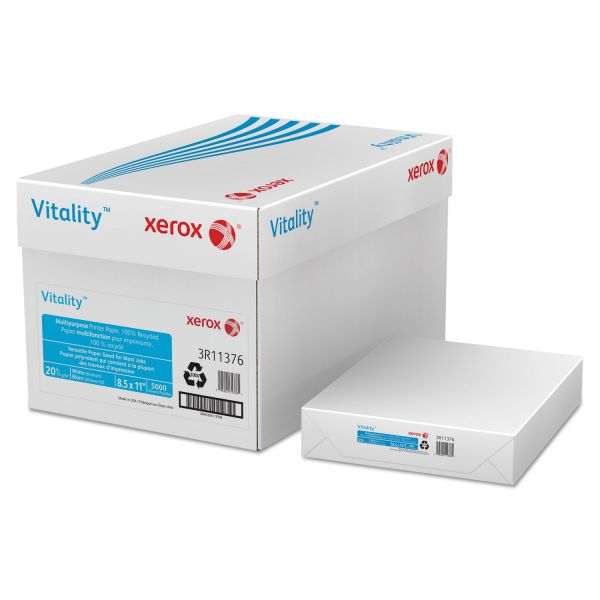 Xerox 100% Recycled White Copy Paper