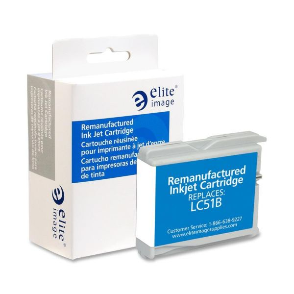 Elite Image Remanufactured Brother LC51BK Ink Cartridge