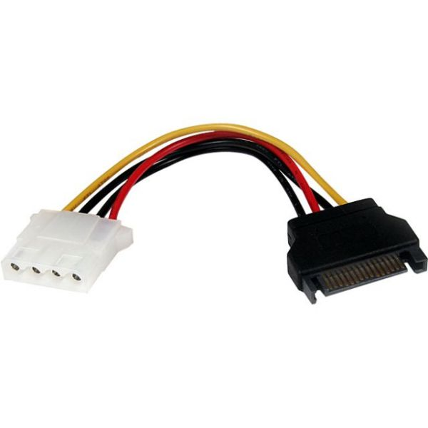 StarTech.com 6in SATA to LP4 Power Cable Adapter - F/M