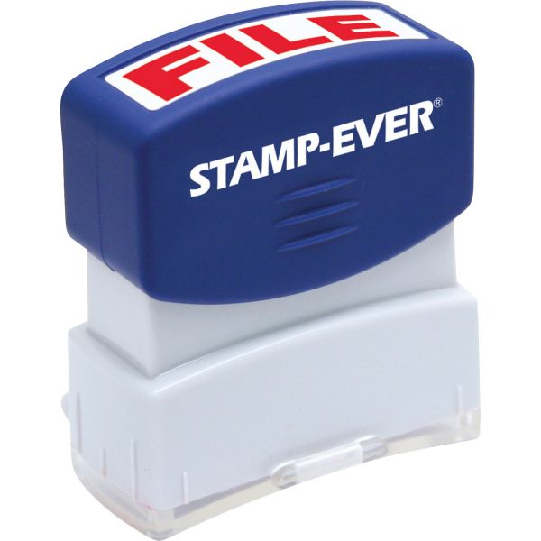 Stamp-Ever Pre-inked File Stamp