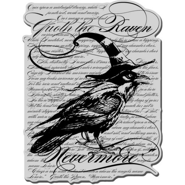 "Stampendous Halloween Cling Rubber Stamp 4""X6"" Sheet"