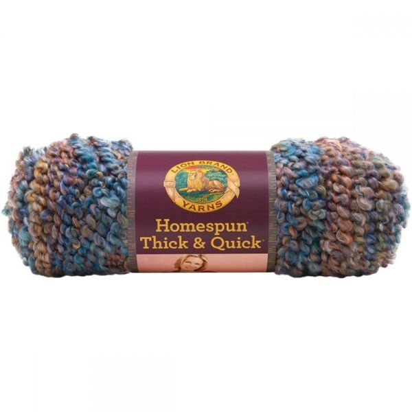 Lion Brand Homespun Thick & Quick Yarn - Painted Desert