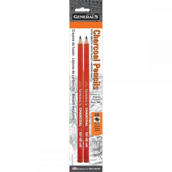 Charcoal Pencils 2/Pkg