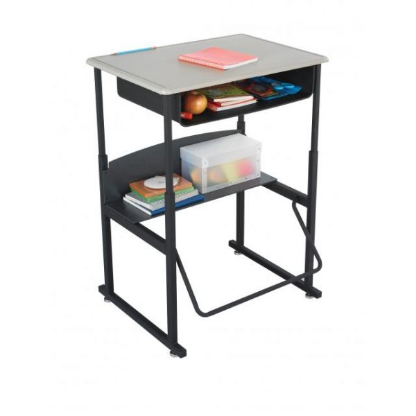 Safco AlphaBetter Standing Desk with Bookbox