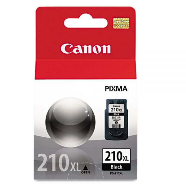 Canon PG-210XL High-Yield Black Ink Cartridge (2973B001)