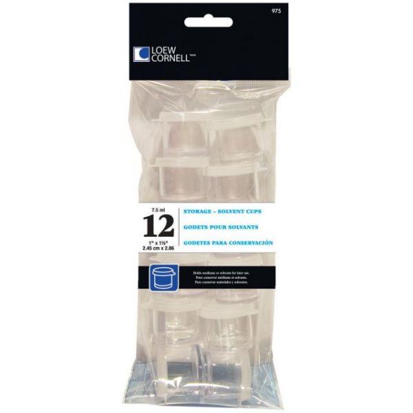 Acrylic Storage Cups 12/Pkg