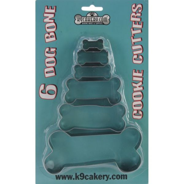 Dog Bone Cookie Cutters 6/Pkg