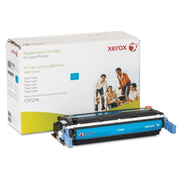 Xerox 006R00942 Replacement Toner for C9721A (641A), Cyan