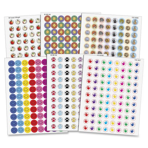 Teacher Created Resources Mini Stickers Variety Pack