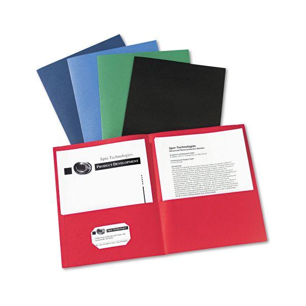 Avery Two Pocket Folders