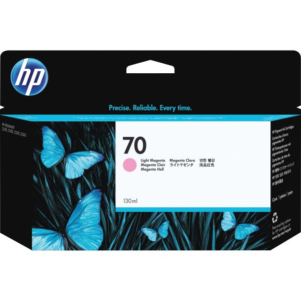 HP 70 Light Magenta Ink Cartridge (C9455A)