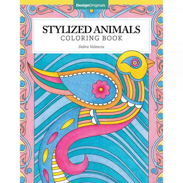 Design Originals: Stylized Animals Coloring