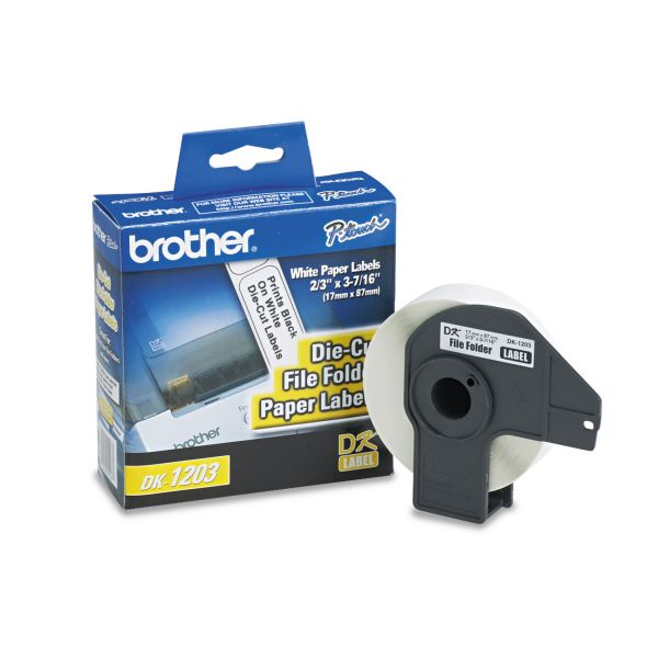 Brother File Folder Labels