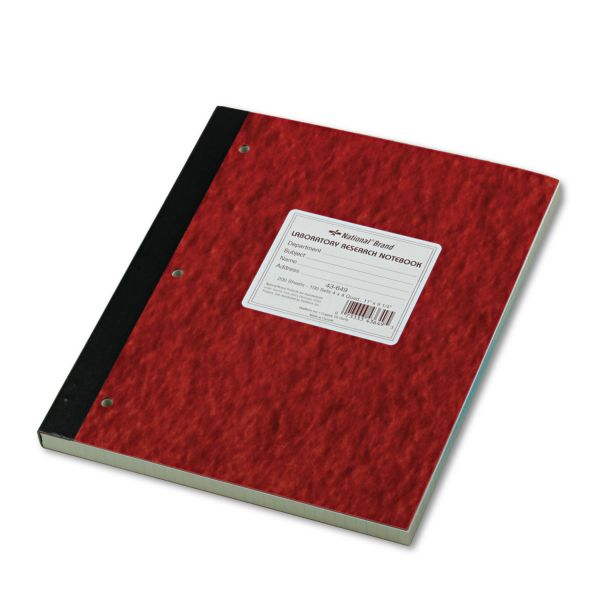 Rediform Laboratory Research Notebook