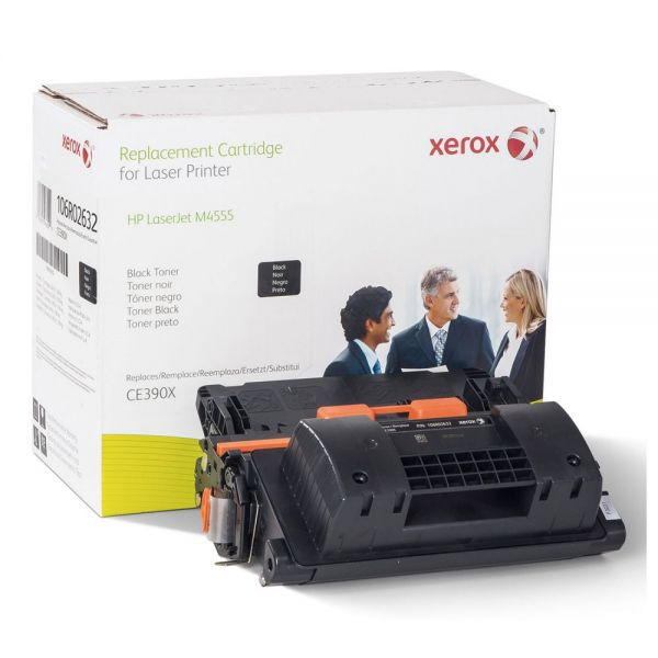 Xerox Remanufactured HP CE390X Black Toner Cartridge