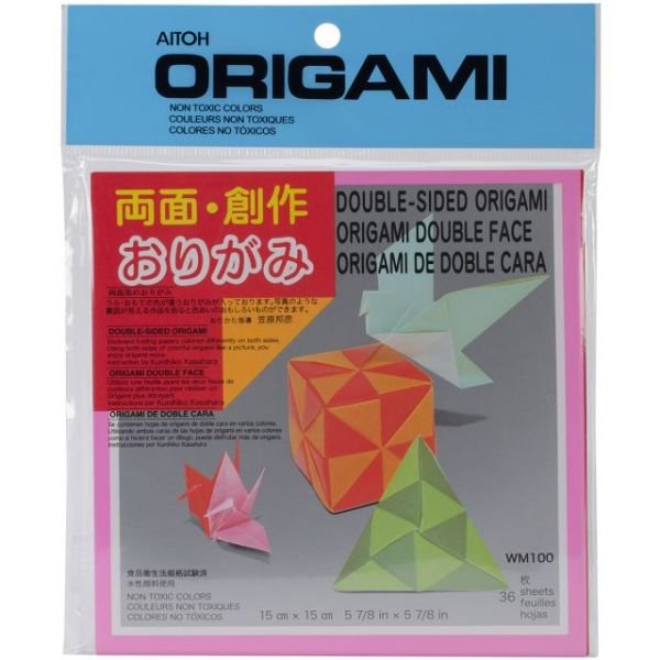 Aitoh Double-Sided Origami Paper