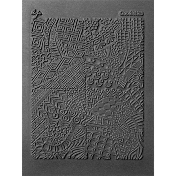 "Lisa Pavelka Individual Texture Stamp 4.25""X5.5"""