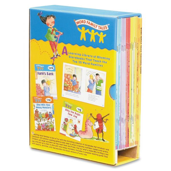 Scholastic Word Family Tales Teaching Guide, Grade Pre K-2, Softcover, 128 pages