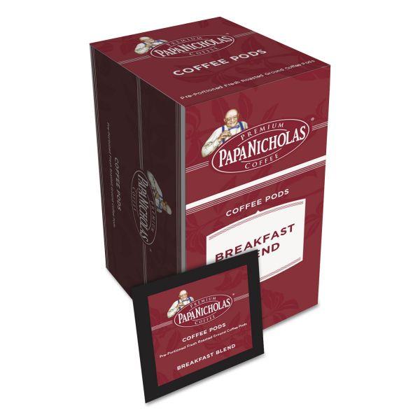 PapaNicholas Coffee Premium Breakfast Blend Coffee Pods