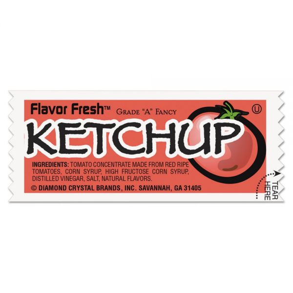 Flavor Fresh Ketchup Packets