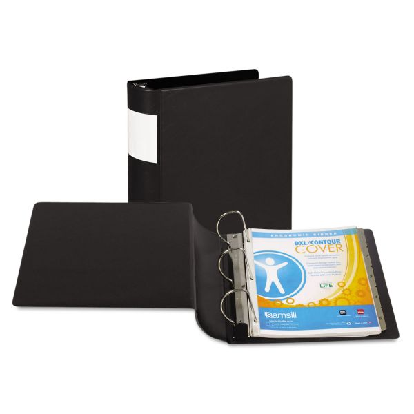 "Samsill Top Performance DXL Locking 4"" 3-Ring Binder"
