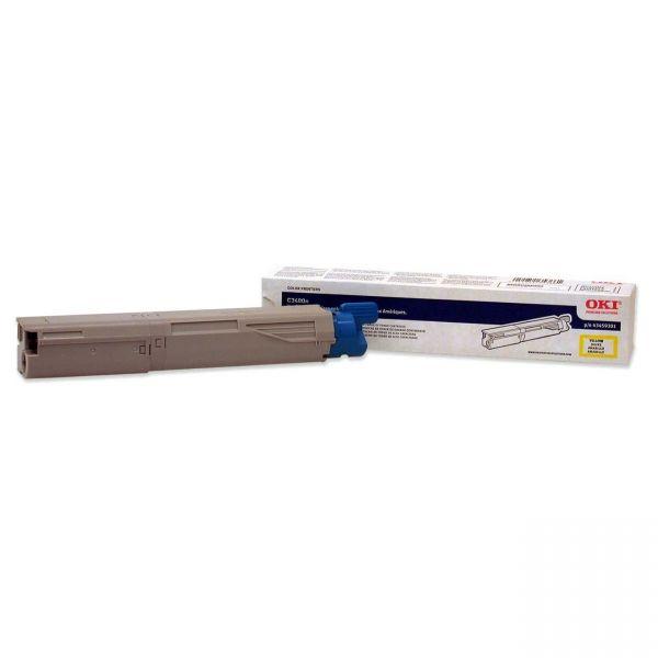 Oki 43459301 Yellow High Yield Toner Cartridge