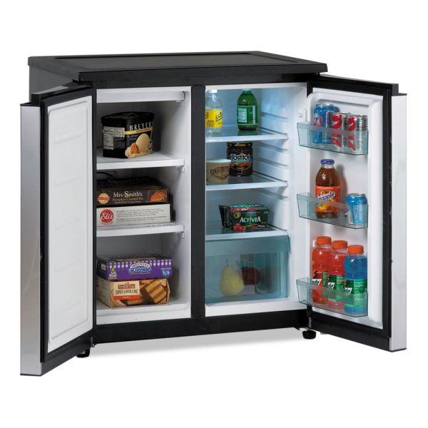 Avanti Side by Side Refrigerator & Freezer